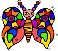 Butterflies Pictures Cartoon
