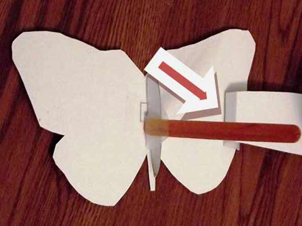 Flapping Butterfly Craft Project
